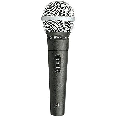 AHUJA AUD-98XLR Unidirectional Dynamic Microphone -Corded Mic