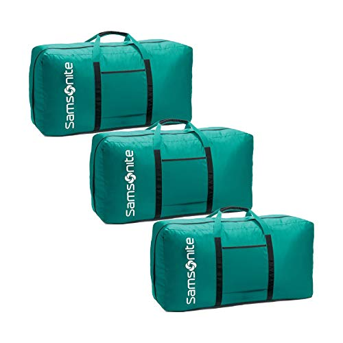 Samsonite Tote-A-Ton 32.5-Inch Duffel (Turquoise, 3-Pack)
