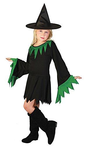 Bristol Novelty- Cc234 Robe de sorcière, Vert, Petit, Green