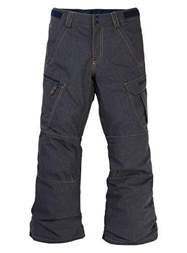 Burton Jungen Exile Cargo Snowboardhose, Denim, XL