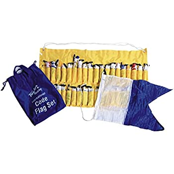 Taylor Made Products Decorative Code Boat Flag Set 12 x 18-Inch