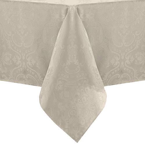 Elrene Home Fashions Caiden Elegance Damask Tablecloth, 60