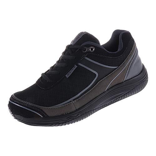 Wellbe Damenschuhe Sneaker Black Grey Berlin (39 EU)