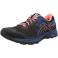 Asics Gel-Sonoma 4, Zapatillas de Running para Mujer, Negro (Black/Sun Coral 003), 37.5 EU
