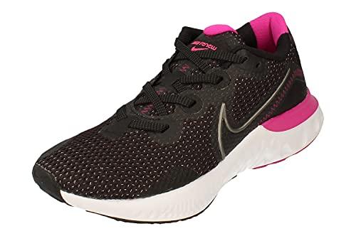 Nike Donne Renew Run Running Trainers CK6360 Sneakers Scarpe (UK 4.5 US 7 EU 38, Black Dark Grey White 004)