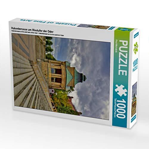 CALVENDO Puzzle Hakenterrasse am Westufer der Oder 1000 Teile Lege-Größe 48 x 64 cm Foto-Puzzle Bild von Paul Michalzik