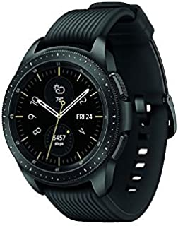 Samsung Galaxy Watch (42mm) SM-R810NZKAXAR (Bluetooth) - Black (Renewed)