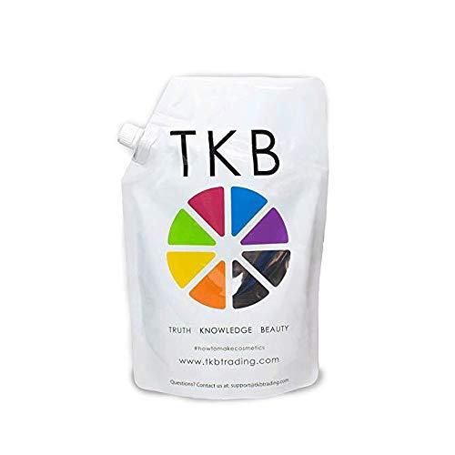 TKB Lip Gloss Base | Clear Versagel Base for DIY Lip Gloss, Moisturizing, Vegan, Made in USA Mineral-Oil-Free 56 Ounce
