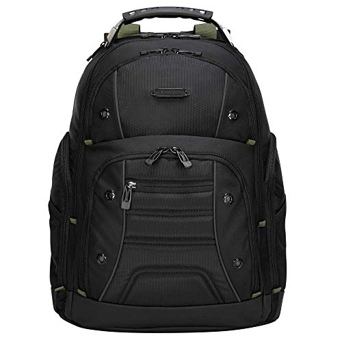 Targus Drifter II Backpack Designed for Business Professional Commuter to fit Laptop up to 17-Inch Screens, Black (TBB23901GL)