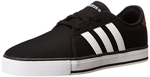 adidas NEO SK LVS Skate Sneaker, Black/Running White/St Bark F, 12 M US