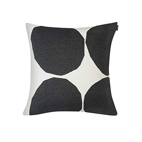 Marimekko - Kissenbezug, Kissenhülle - Kivet - Mischgewebe - Off White-Schwarz - 50 x 50 cm