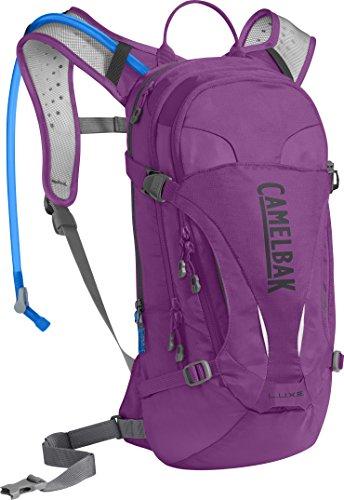 CAMELBAK Luxe Mochila de Hidratación, Mujer, Morado (Light Purple/Charcoal), Talla Única
