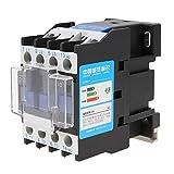 220V 12A Contactor de CA eléctrico industrial CJX2-1210 Interruptor de alimentación de motor de alta sensibilidad Fijo y Tipo de riel Instalación