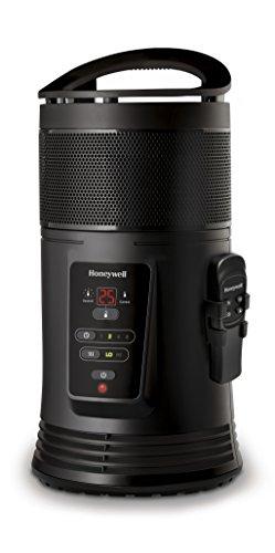 Honeywell HZ445E4 360° Rundum Heizgerät-HZ445, 1800 W, schwarz