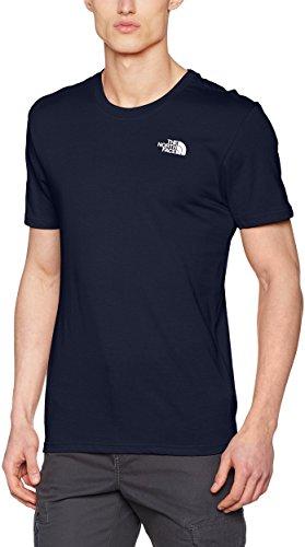 The North Face Herren T-Shirt Simple Dome, (urban navy/tnf white), Medium