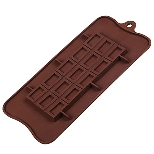 Nicejoy Silikon Auseinander Ausköstliche Schokoladenformen Non-Stick-silikon 15-hohlraum-süßigkeiten-Kuchen Machen Tablett-DIY-Handwerk Backform 3D-Non-Stick Wiederverwendbare Backformen