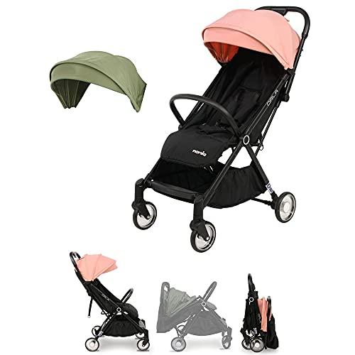 Nania - Sillas de paseo compacto Orla con plegado automático, hasta 15 kg (rosa)