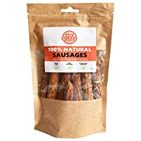 RAW & HEALTHY DOG TREATS: Treat your canine to a delicious reward snack that isn't associated with the problems of unhealthier dog chew products. Pork & Beef are the only ingredients making it a perfect pet safe alternative for a good boy or girl. JU...