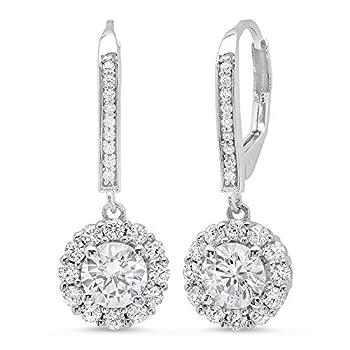 Best white gold drop earrings Reviews