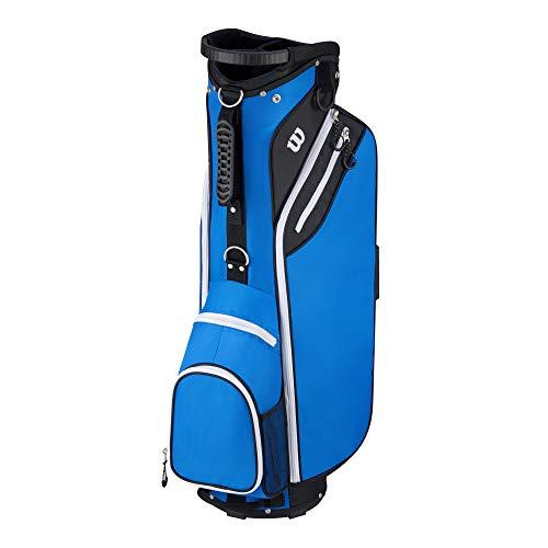 Wilson 'W' Cart Golf Bag, Blue