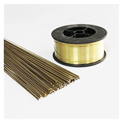 Tig Brass Brass Barras de soldadura soldadura de soldadura de alambre de soldadura de soldadura de relleno de lámina de metal Ronda de 0.8mm 1 mm 1.6mm 2mm 2.5mm 3mm 4mm 5 mm 6 Barras de soldadura Mot