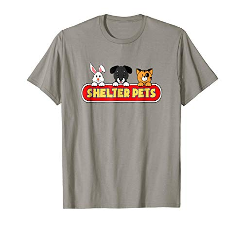 Shelter Pets T-Shirt for Dog Cat and Animal Rescues Adoption
