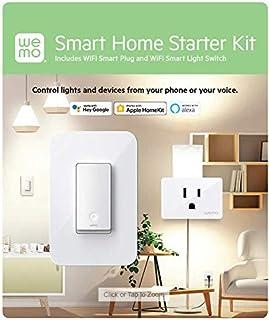 Wemo Smart Home Starter Kit Plug and Switch هوشمند