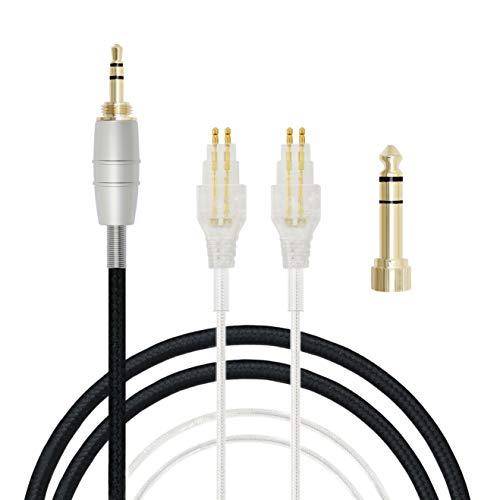 MiCity Upgrade Kabel Audiokabel für Sennheiser HD650 HD600 HD580 HD414 HD420 HD430 HD525 HD545 HD565 Kopfhörer (1.5m)