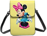 Beauty Minnie Mouse Cell Phone Purse Small Crossbody Bag Wallet Shoulder Bag Card Holder Handbag For Women New Year 2021