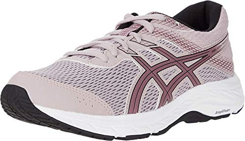 ASICS Women's Gel-Contend 6 Running Shoes, 8.5M, Watershed Rose/Purple Oxide