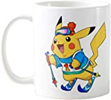 N\A Tazze da caffè Portatili Premium Divertenti - Pikachu Uomini, Donne, Mamma, papà, Insegnante, Fratello o Sorella # 2114