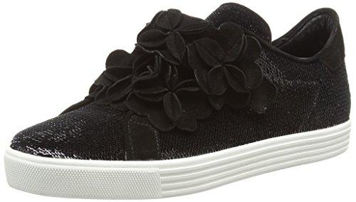 Kennel und Schmenger Damen Town Sneaker, Schwarz (Black Sohle Weiss 620), 38 EU