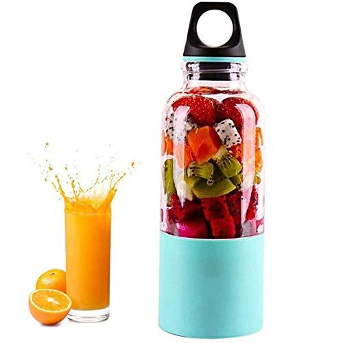 N /A YXY-Tech blender, elektrische mini-blender voor smoothies, smoothies, mini draagbare blender, BPA-vrij en gemakkelijk te reinigen