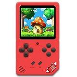 ZHISHAN Console de Jeux Portable pour Enfants Adultes Jeu Vidéo Rétro Classique 220 Intégré Rechargeable Écran de...