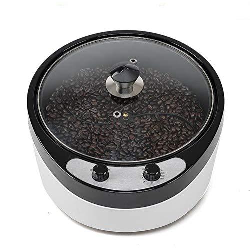 ZLFCRYP 1800W Elettrica Macchina di Tostatura di Chicchi di caffè, Tostatori di caffè Inclinazione 45 °Cuocere in Modo Uniforme