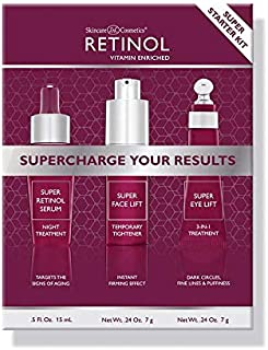 Retinol Super Starter Kit - Supercharged with the proven power of Vitamin A. Super Retinol products are enriched with Vita...