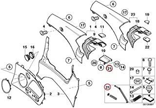 BMW Genuine Lateral Trim Panel Rear Cam Follower Left Repair Kit 323Ci 325Ci 330Ci M3