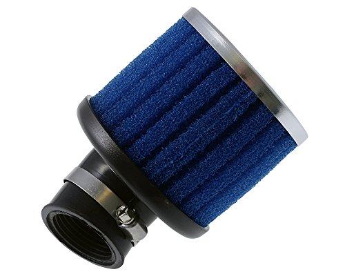 Luftfilter POLINI Special Air Box lang 32mm 30Grad blau