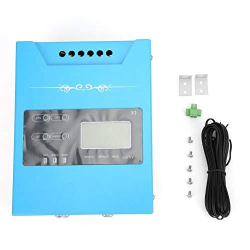 Solarladeregler, MPPT Solarpanel Laderegler Batterieregler Laderegler mit USB Anschluss, JN-MPPT-AL 12V/24V/48V Solarregler(MPPT-AL-30A)