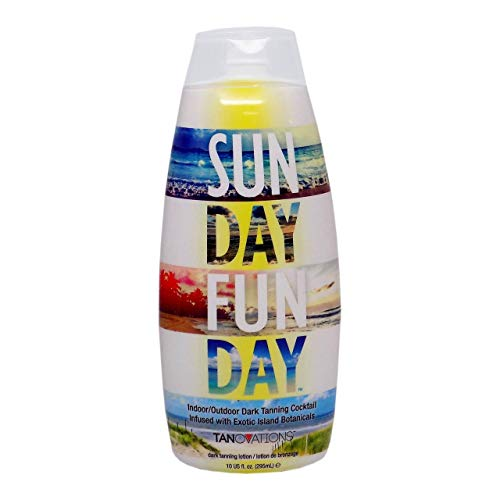 Tanovations Sun Day Fun Day Indoor and Outdoor Tanning Lotion