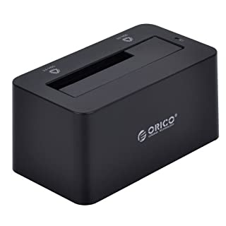 ORICO 6619US3 USB 3.0 disque dur Docking Station pour 2,5/3,5 & quot ; & Quot ; SATA I/II/III HDD avec USB3 Câble et alimentation externe Supporte jusqu'à 4 TB compatible avec Win8 Mac OS X 10.8.4 Noir Vertical (B00BLED24K) | Amazon price tracker / tracking, Amazon price history charts, Amazon price watches, Amazon price drop alerts