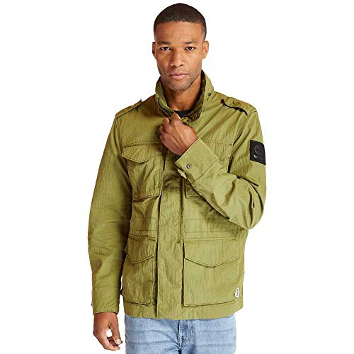 Timberland - Chaqueta Double Field Jkt Mayfly A21CZ con cuello V461