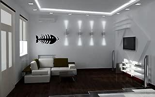 Wall Vinyl Sticker Decals Art Mural Fish Skeleton AB210