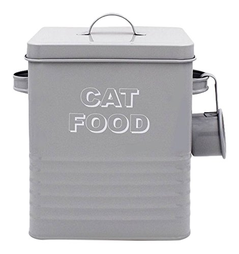 Lesser & Pavey New Sweet Home Cat Food Tin with Scoop,...