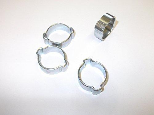32 mm-par OneStopDIY 12 X COLLIERS DE SERRAGE type JUBILLEE Clip BZP Résistant aux intempéries 18 mm