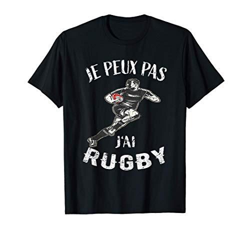 Maillot De Joueur de Rugby - Je Peux Pas J'ai Rugby - Rugby T-Shirt