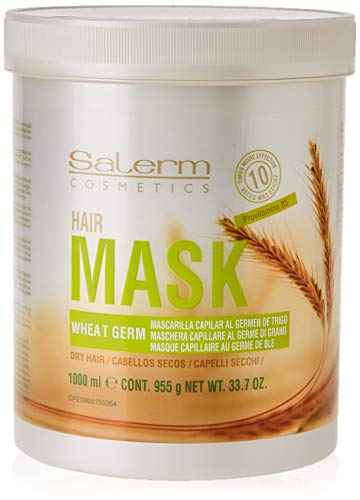 Salerm Cosmetics Wheat Germ Hair Mask Mascarilla - 1000 ml