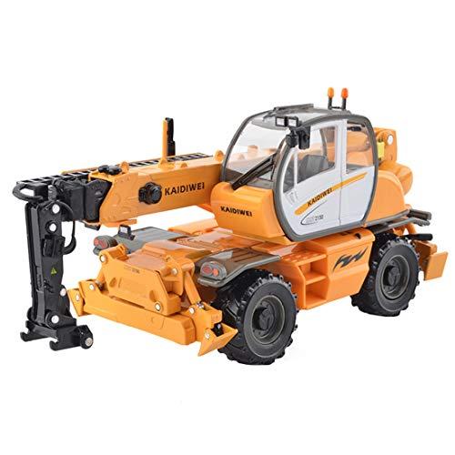 ColiCor Modelo multifuncional del vehículo de la ingeniería de la aleación de la grúa de la rueda de la suspensión de la escala 1:50