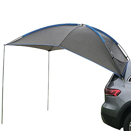Toldo Portátil Sun 280 * 190Cm Carpas Traseras para Vehículos Techo para SUV Hatchback Camping Viajes Al Aire Libre Sombra A Prueba De Lluvia