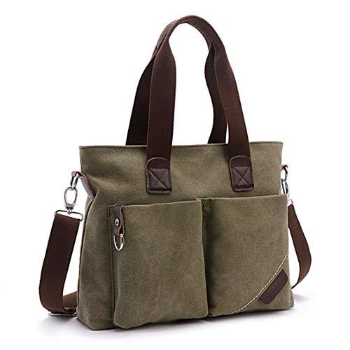 ToLFE Women Top Handle Satchel Handbags Tote Purse Shoulder Bag (Army...